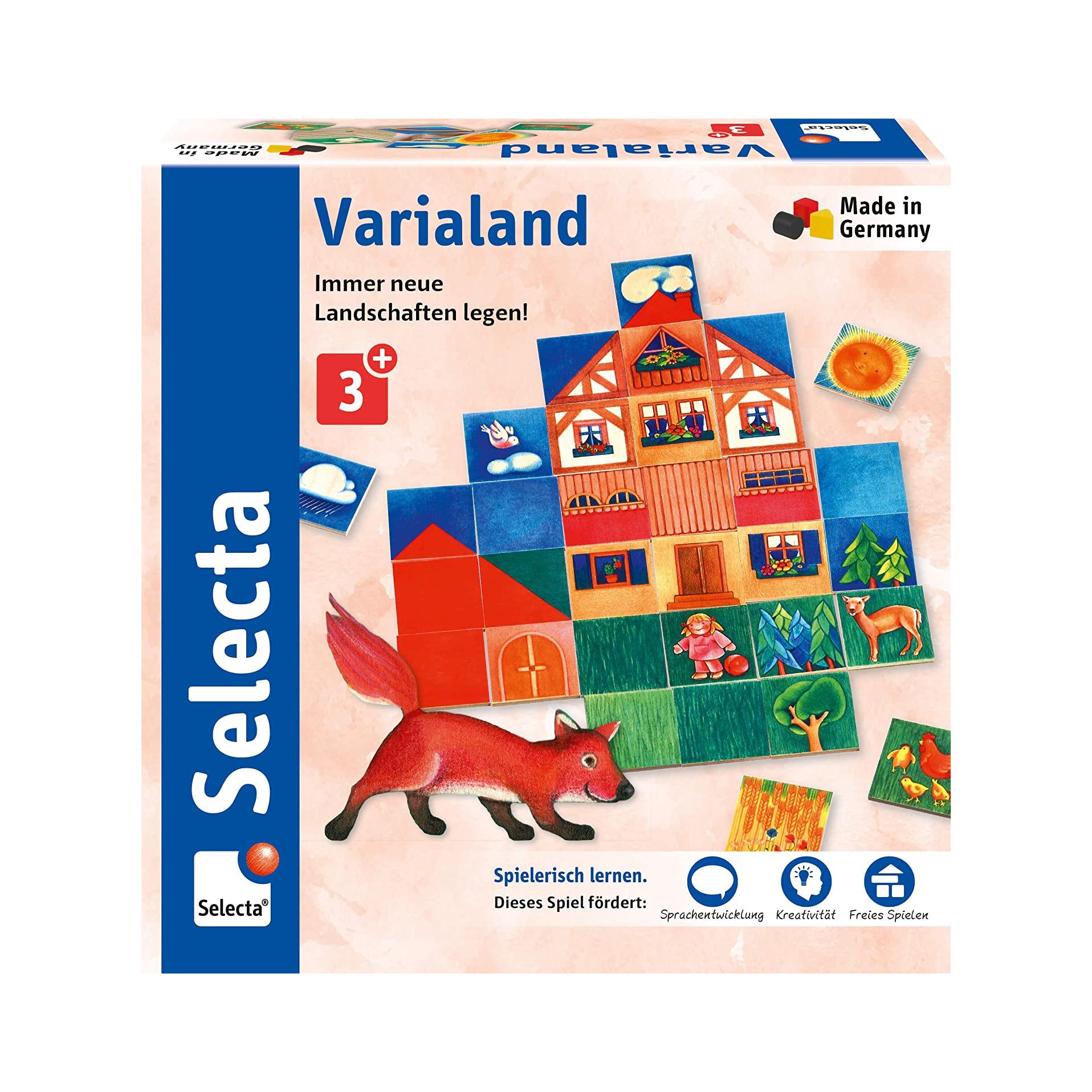 Varialand, Legespiel